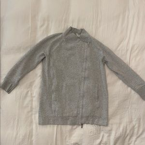 Lululemon Asymmetrical Side Zip-Up Sweater